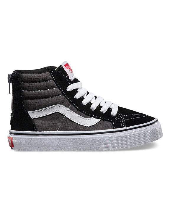 VANS Y SK8-HI ZIP BLACK / CHARCOAL Shoes