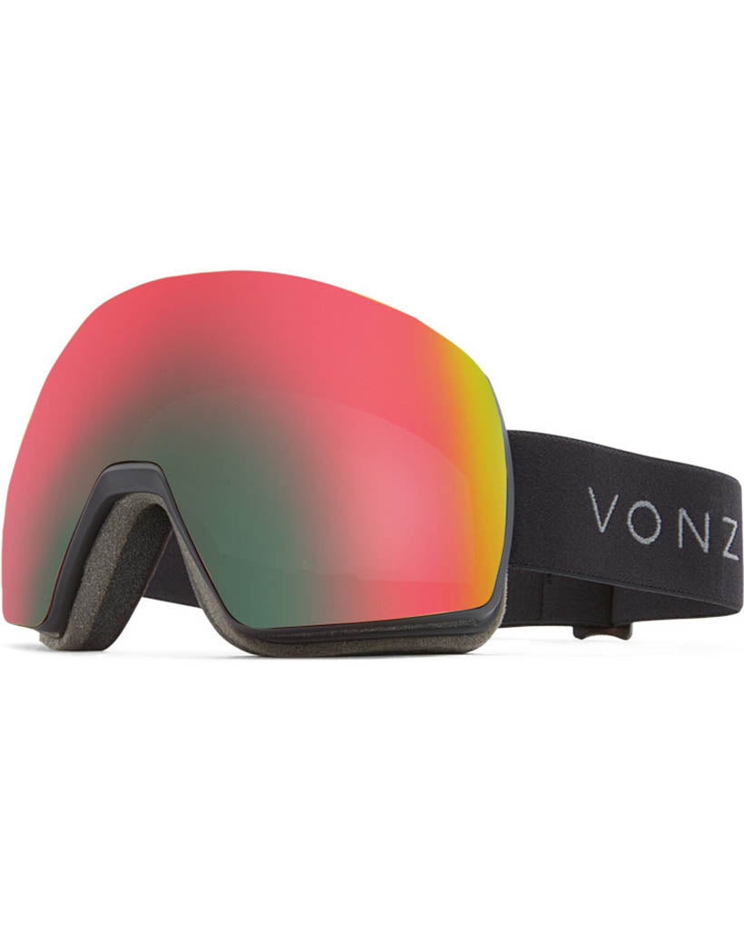 Goggles VON ZIPPER SATELLITE BLACK SATIN / WILDLIFE CHROME