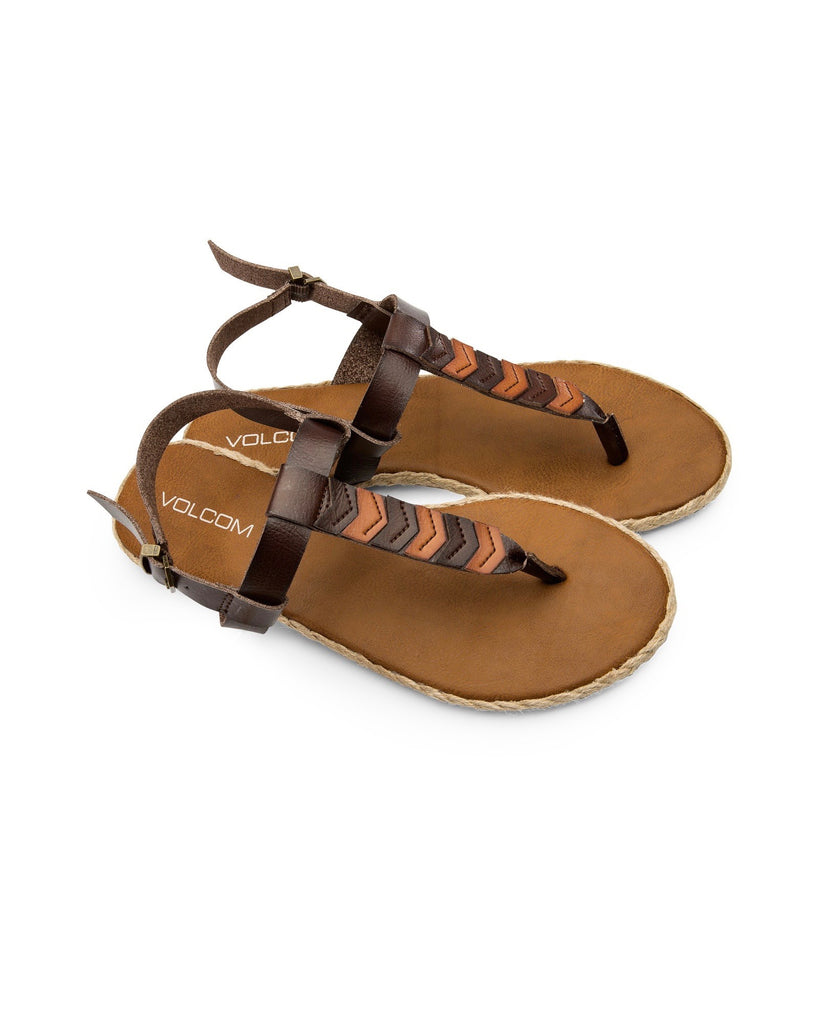 VOLCOM TRAILS BROWN Sandals