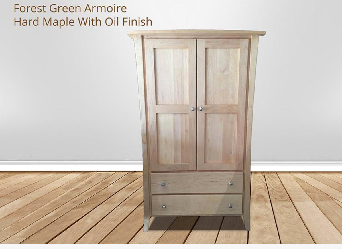 All you need to know about solid wood armoires