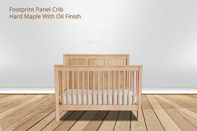 footprint panel crib