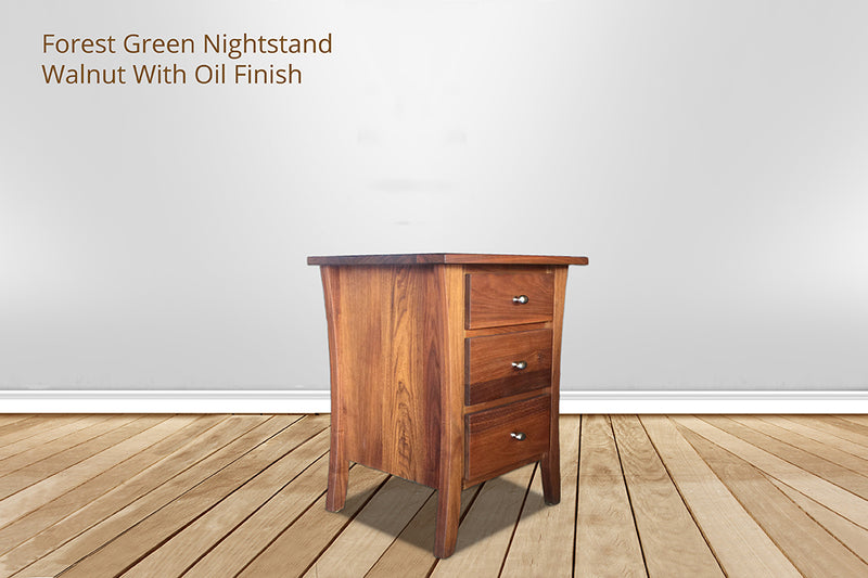 forest green nightstand