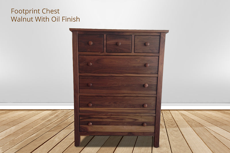 footprint 7 drawer chest