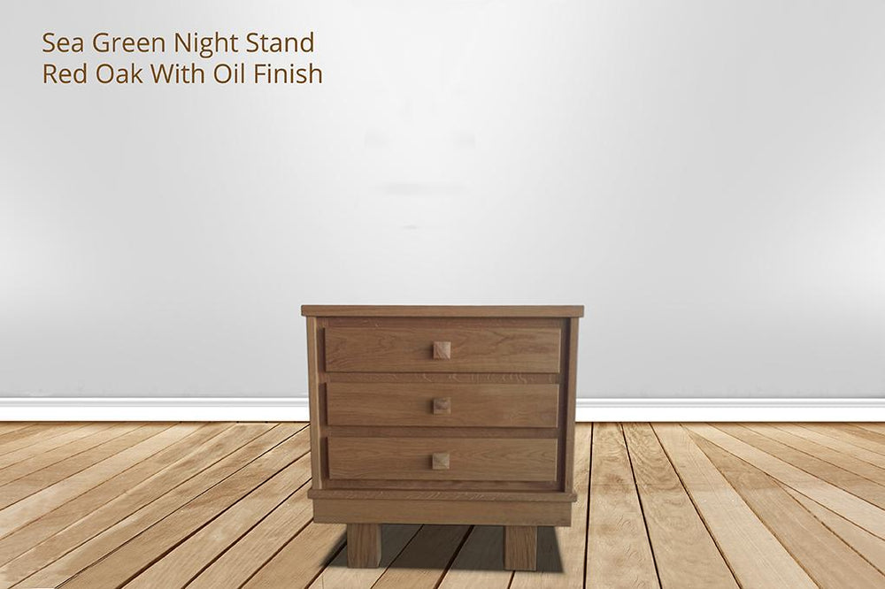 [CUSTOM] sea green nightstand