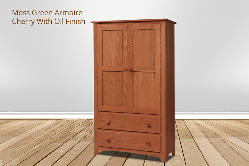 moss green armoire