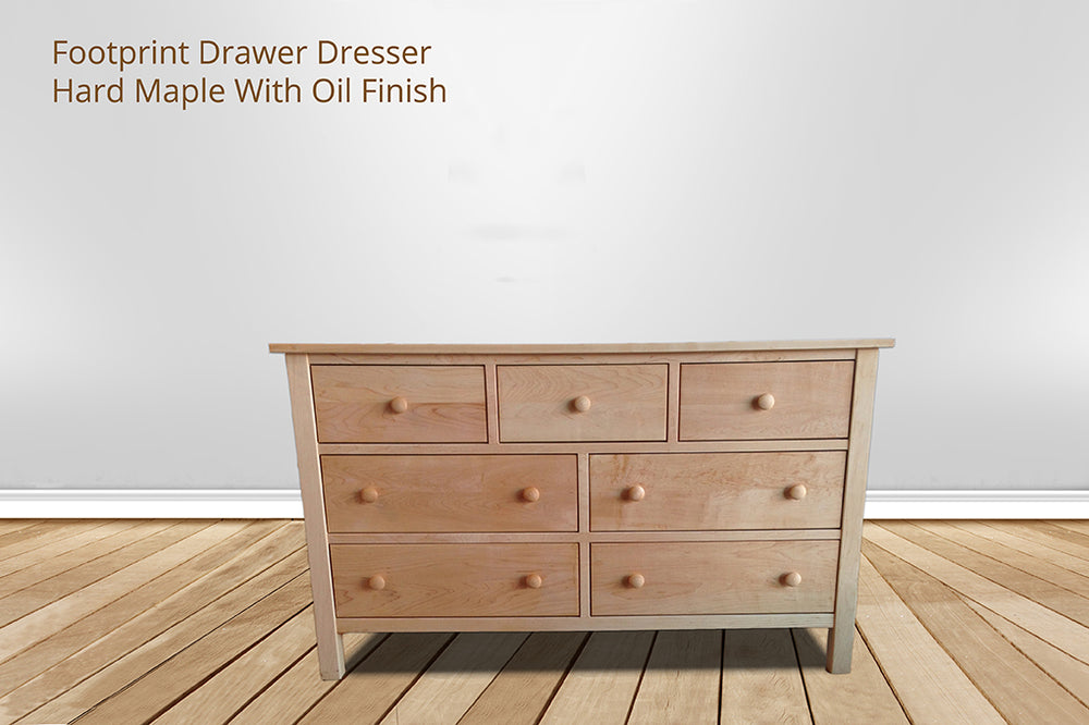 footprint 7 drawer dresser