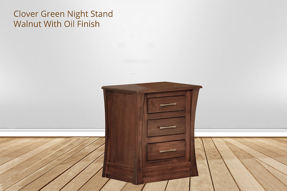 clover green nightstand