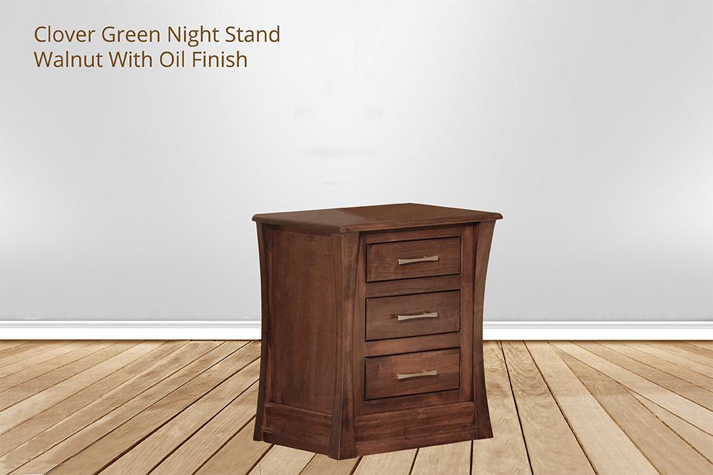 [CUSTOM] clover green nightstand
