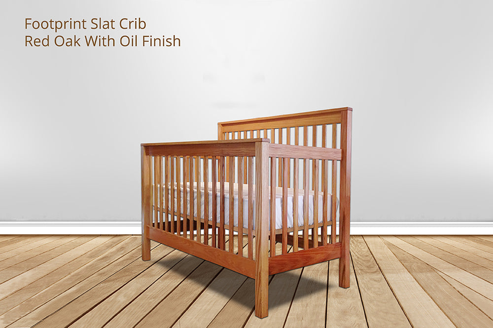 footprint slat crib