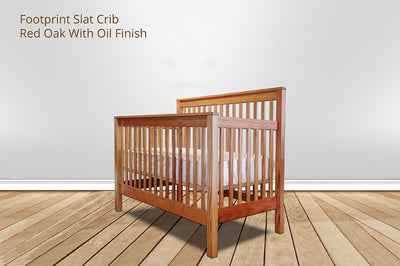 [CUSTOM] footprint slat crib