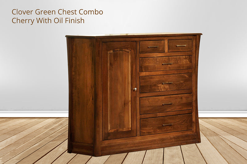 clover green chest combo