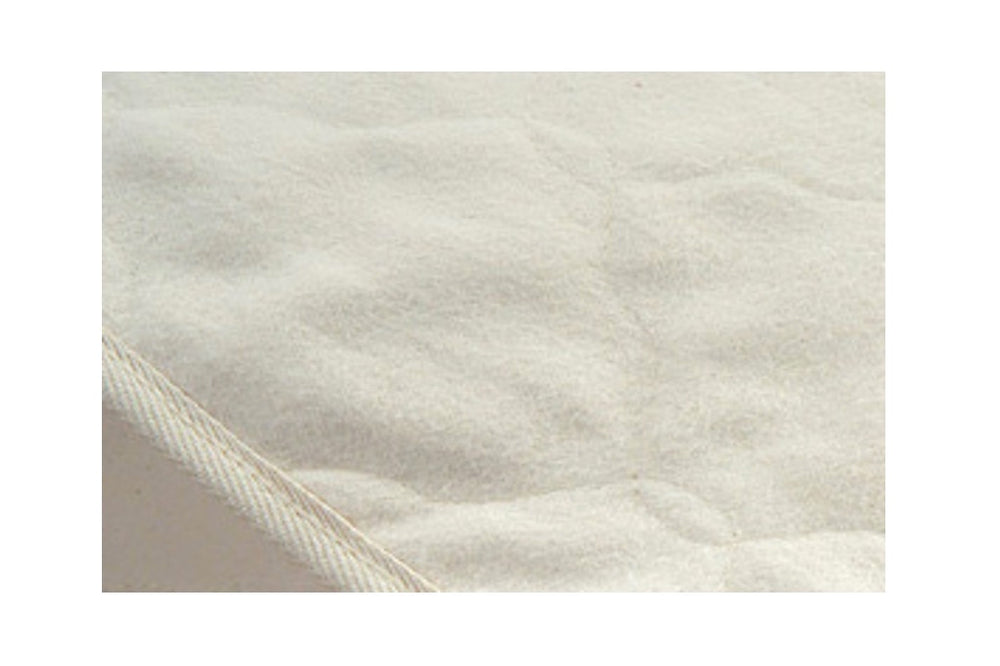 Crib Organic Cotton Flannel Mattress Pad