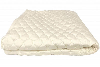 green cradle organic cotton mattress pad