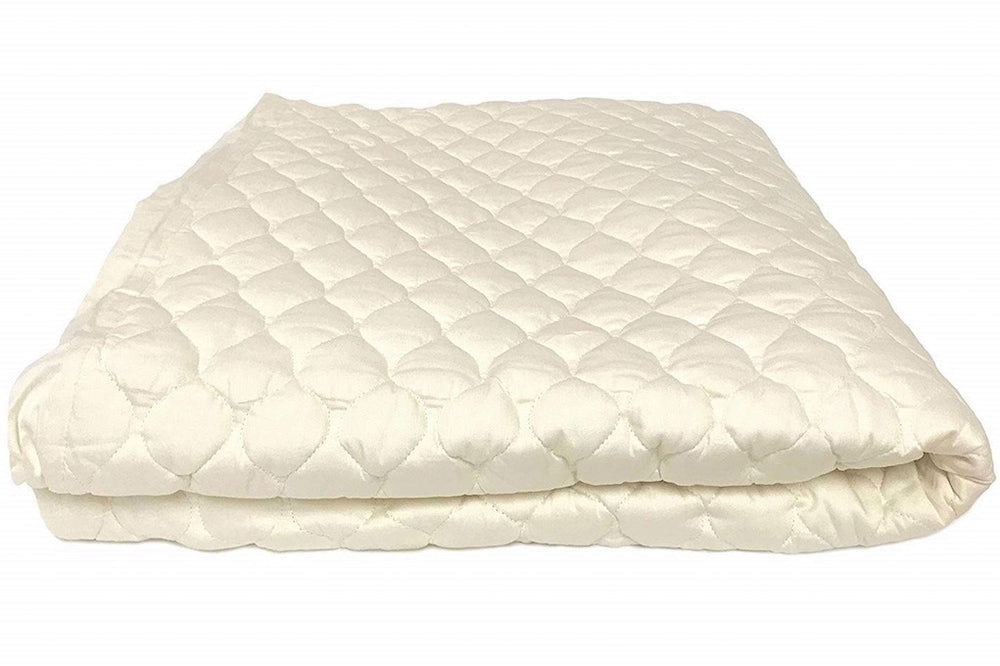 crib organic cotton mattress pad