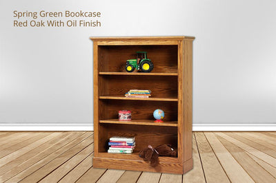 [CUSTOM] spring green bookcase