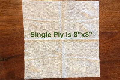 100% cotton disposable wipes