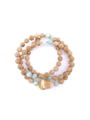 ❂ SEA+DREAM WRAP BRACELET ❂