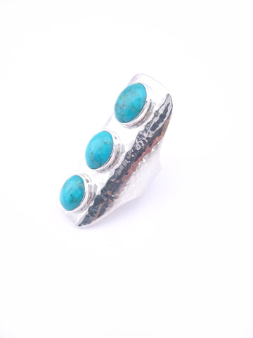 ☼ TURQUOISE SADDLE RING ☼ SALE!!!