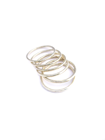 ☼ SATURN STACKING RINGS ☼