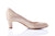 Sanida Carroll Catria Comfortable Mid Heels - Beige Patent (side right)