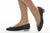 Sanida Carroll Giara Black Napa Quilt Comfortable Flats (model)