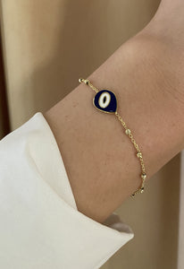Abstract Eye Bracelet