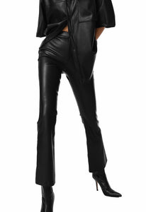 Bias Midi Skirt in Black