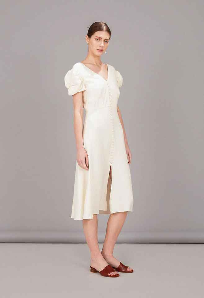 Margot Dress - Cream