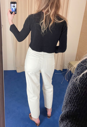 The Curve Jean In Pearl