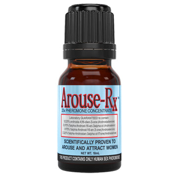 Arouse-Rx Unscented Pheromones for Men 1 Bottle