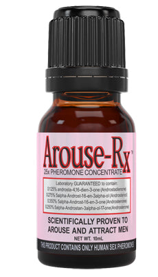 Arouse-Rx Unscented Pheromones for Women 1 Bottle