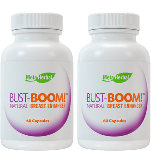 2 Bottles of Bust Boom Breast Enhancement Pills