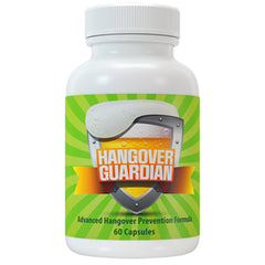 Hangover Guardian Advanced Hangover Cure w/Charcoal, Cysteine & COQ10