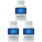 3 bottles of NeuroIQ Nootropic Brain Supplement Pills