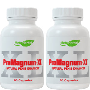 2 bottles of ProMagnum-XL Male Enhancement Pills: Powerful Testosterone Sex Booster