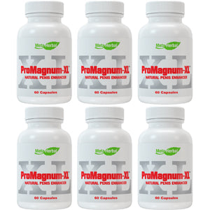 6 bottles of ProMagnum-XL Male Enhancement Pills: Powerful Testosterone Sex Booster