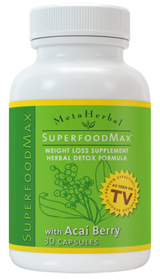 1 bottle of Superfood Max with 14 Diet Foods: Superfood Supplement w/Acai Berry