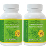 2 bottles of Superfood Max with 14 Diet Foods: Superfood Supplement w/Acai Berry
