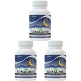 3 bottles of SomaLunex 100mg: Extra Strength Sleeping Pills Timed Release Tablets