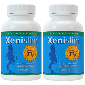2 bottles of XeniSlim Extreme Diet Pill For Women: Fat Burner Weight Loss Formula