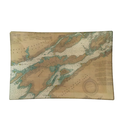 Medium Découpage Tray (TI #1A North - Cape Vincent, Clayton)