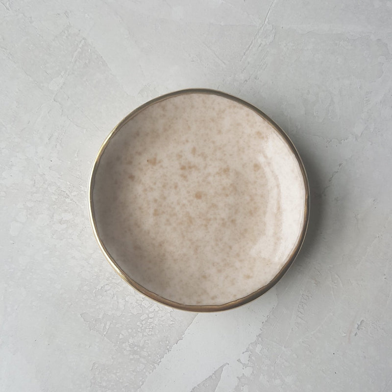 Speckled Glaze Ring Dish
