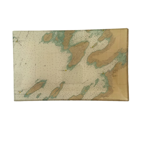 Small Ddécoupage Tray (TI #1A South - Chaumont, Sackets Harbor)