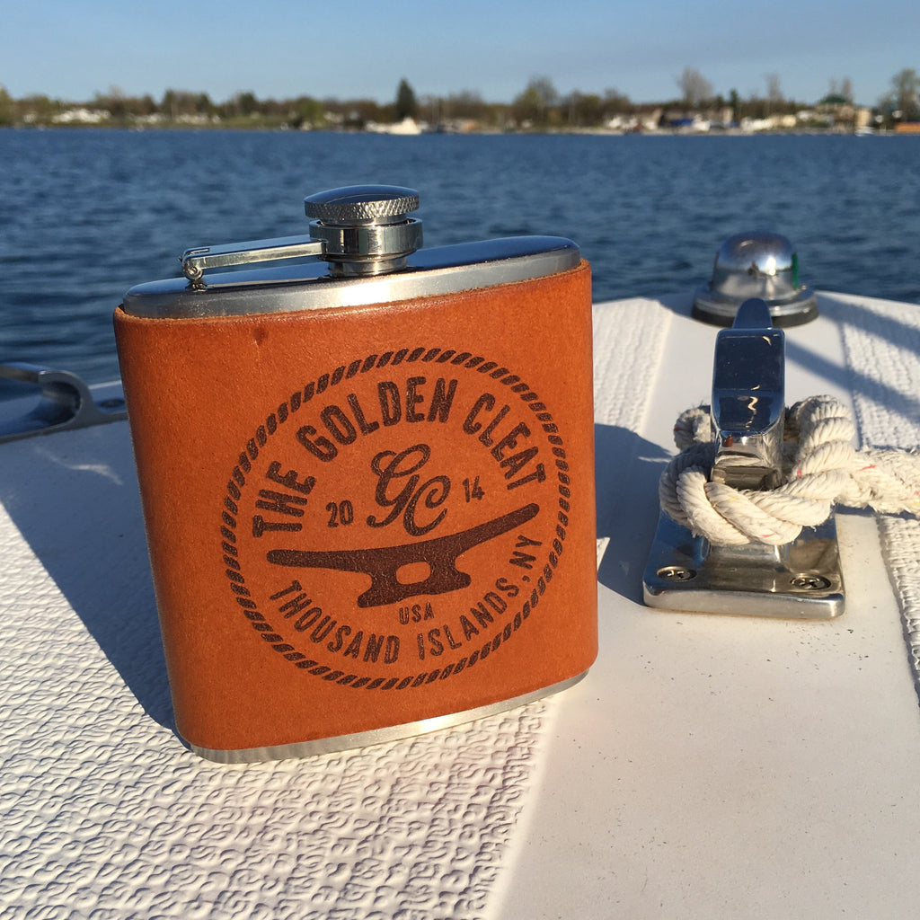 Handmade Leather Flask
