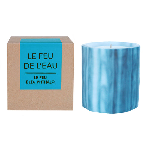 Le Feu Bleu Phthalo: Night Blooming Jasmine Candle