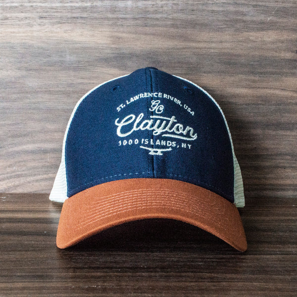 Clayton Mesh Back Trucker Hat (Various Colors)