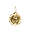 Cancer Zodiac Charm in 18K Gold