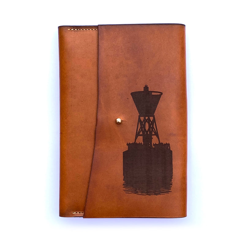 Channel Marker Leather Journal