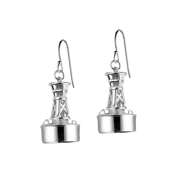 Classic Channel Marker Earrings