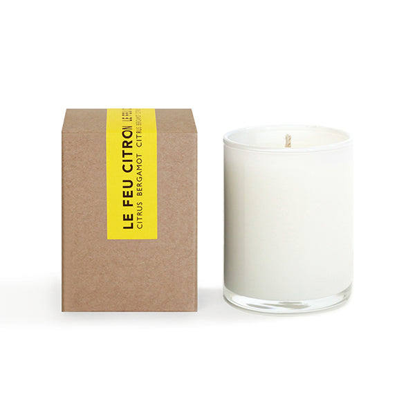 Le Feu: Citron Votive Candle